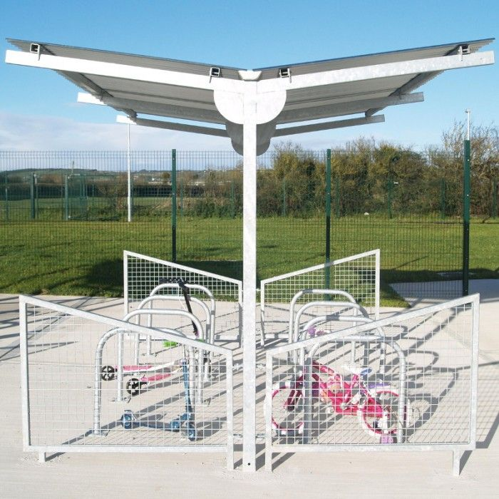 Y Cycle Shelter | Larkin Street Products Manufacturers in Ireland and the UK