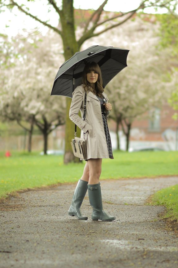 Slightly damp spring outfit from Classic Noise