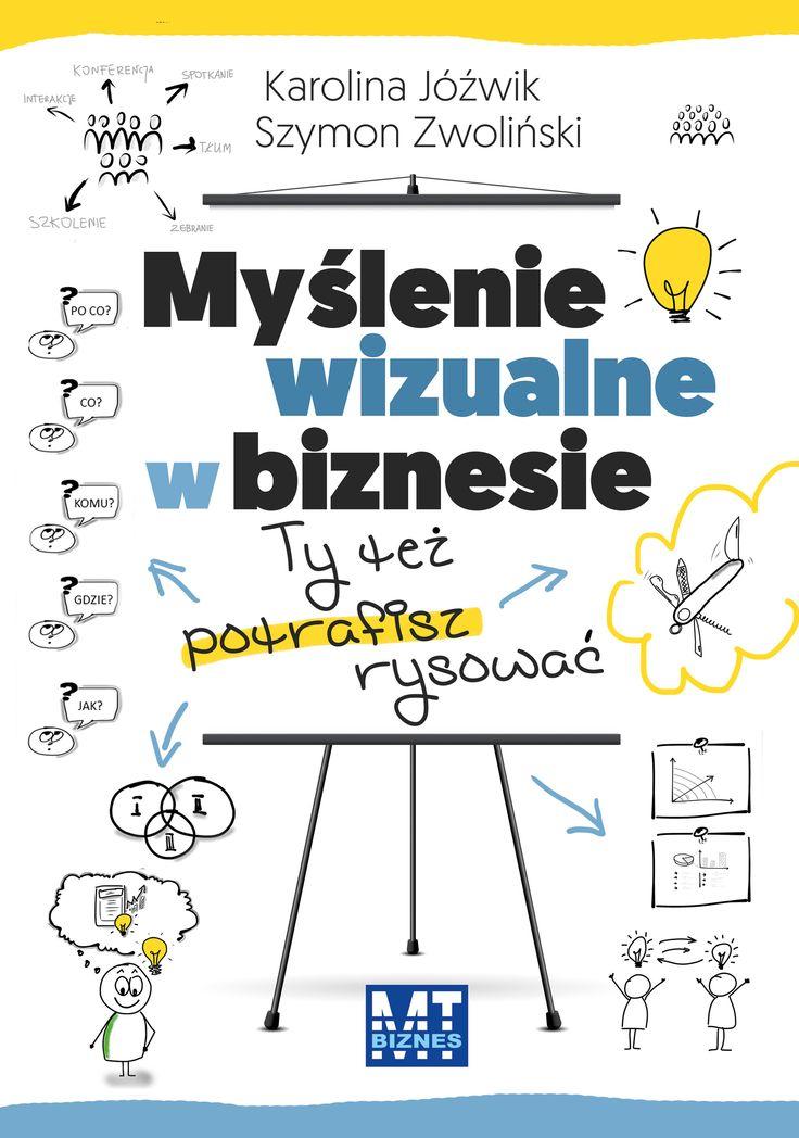 Myślenie wizualne w biznesie (Karolina Jóźwik, Szymon Zwoliński)