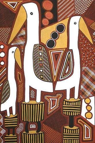 Gallery.ru / Фото #15 - искусство аборигенов Австралии - songmeili