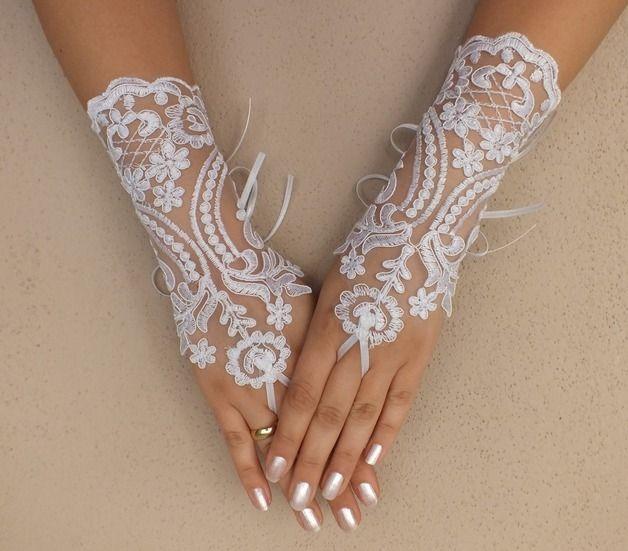 gratuits expéditions Gants ivoire de mariage, Paire de mitaines, : Mitaines, gants par binnur-yildirim