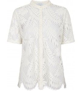 Second Female Hortensia ss shirt off white