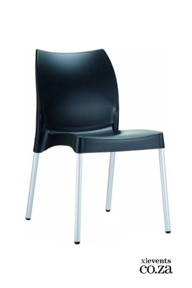 Black Plastic Chair available for hire for your wedding, conference, party or event. Browse our selection of chairs and furniture in our online catelogue.