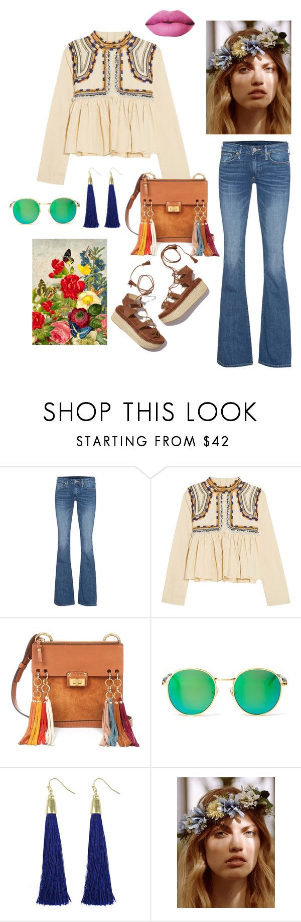 """BOHO #1"" by evitaom on Polyvore featuring True Religion, Isabel Marant, Chloé, Stuart Weitzman, Wildfox and Free People"