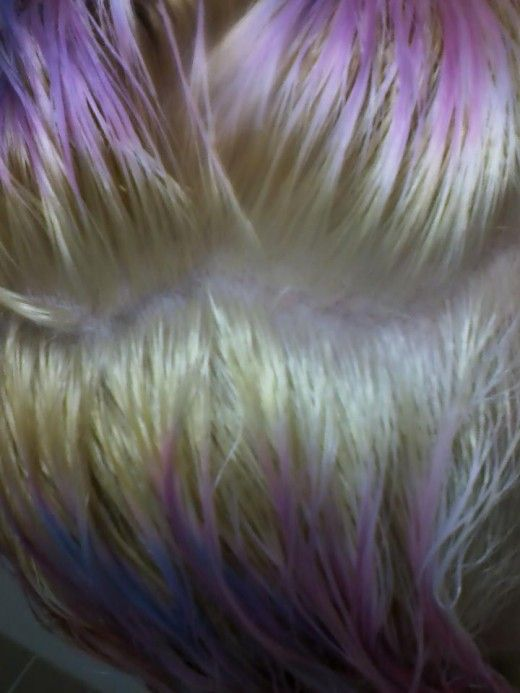 Here I come, purple shampoo! (caring for dyed hair)