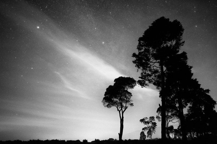 Night Silhouette in West Java