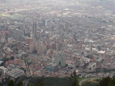 Dazzling Bogota. Taken from Mount Monseratte.