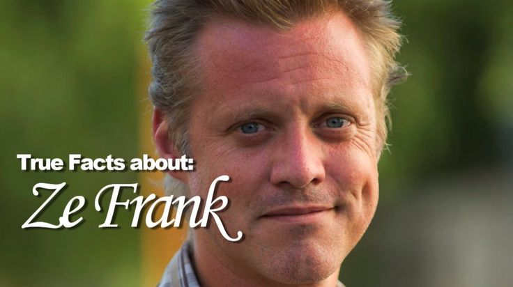 Super Carlin Brothers:True Facts about Ze Frank (+playlist)