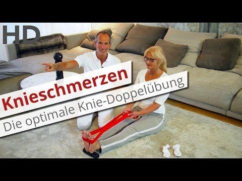 Knieschmerzen // Die optimale Doppel-Übung für beide Knie // Übungen ohne Zeitverlust - YouTube