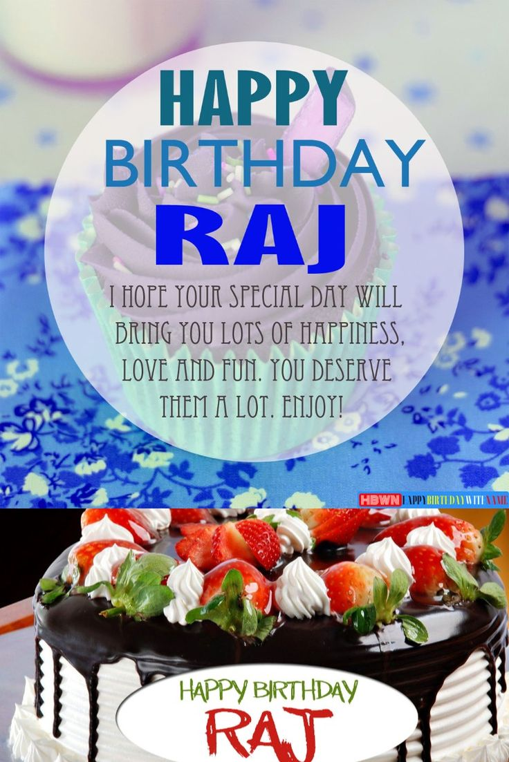 Happy Birthday Raj Images Cake & Songs in 2020 Wishes