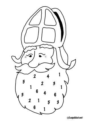 last-minute telactiviteit Sinterklaas of zwarte pietenzak met bruine rondjes als pepernoten