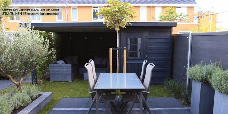 17 best images about tuin on pinterest gardens tes and outdoor seating areas - Deco moderne tuin ...