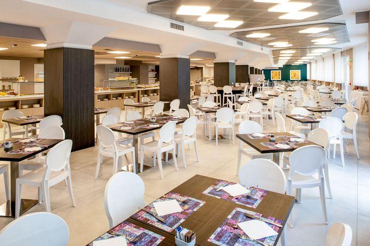 La Sala colazione dell'Hotel Da Vinci Milano