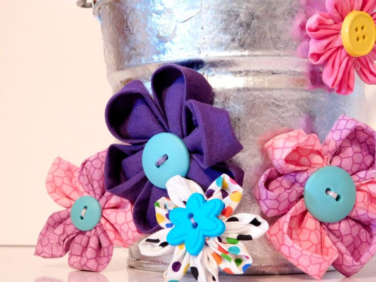 Kanzashi Flowers all together