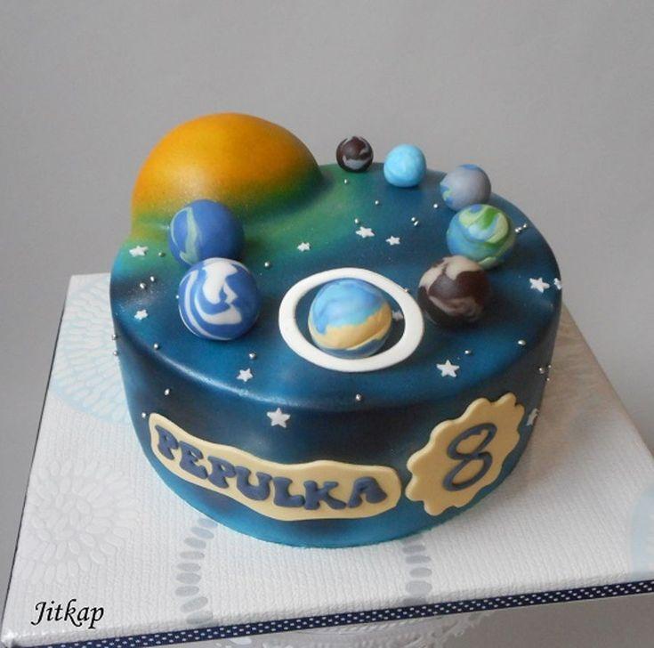 Planety Vesmíru on Cake Central