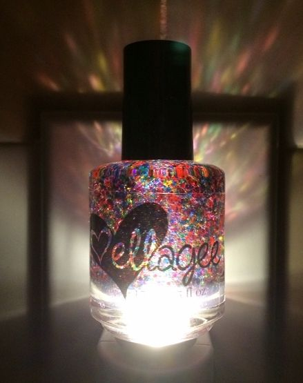 Nail Polish Bottle Night Light