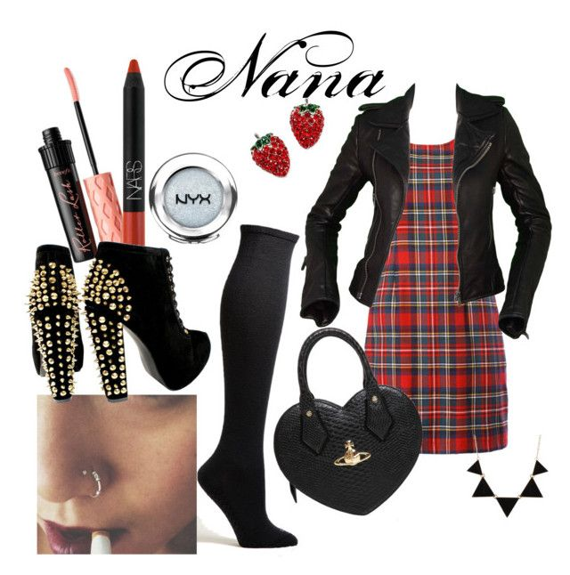 """Nana Osaki Inspired"" by ashley-dawn-nichols on Polyvore"