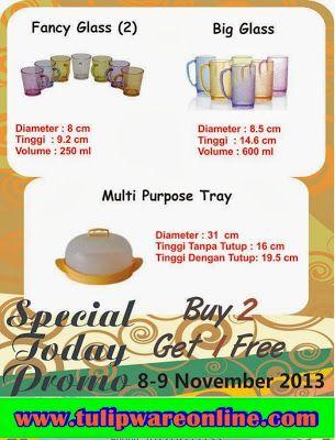 Promo Tulipware 8 dan 9 Novermber 2013   Cream Sari Kosmetik Pemutih Wajah Aman BerBpom