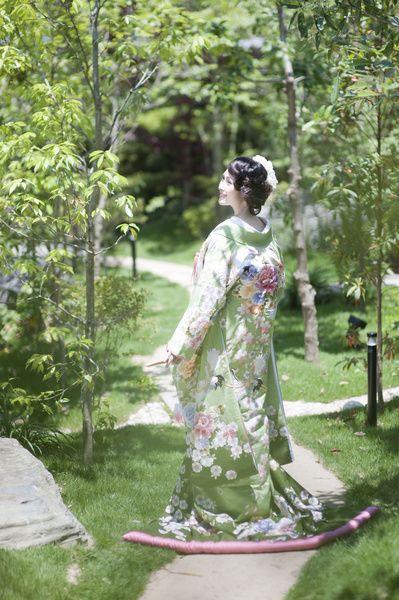 くくる(CUCURU)  うぐいす枝垂桜鶴牡丹