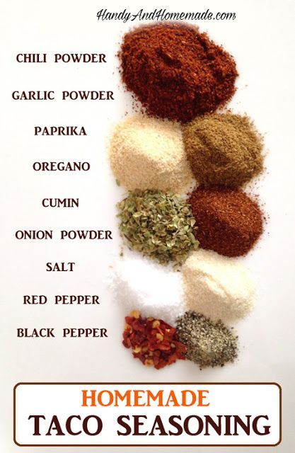 DIY Easy Homemade Taco Seasoning Recipe