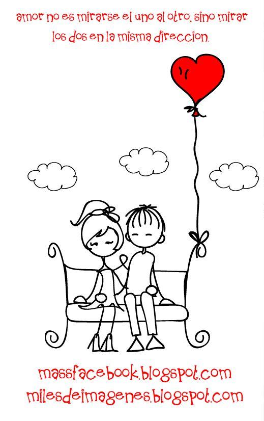 amor es tener los mismos sueños por estar juntos