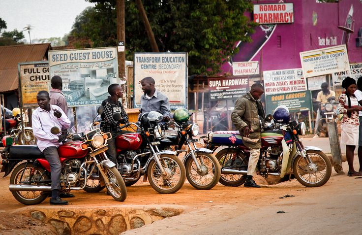 Boda bodas, Kampala, Uganda. Photo (c) Miikka Järvinen 2012. Original gallery http://miikkajarvinen.wordpress.com/2014/02/22/life-wildlife-uganda/
