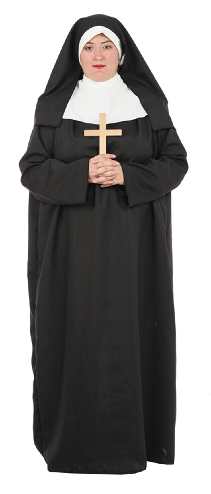 Disfraz de #monja para #tallasgrandes