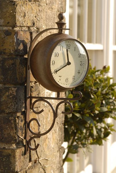 Outdoor Clock · Garden ClocksGarden ...