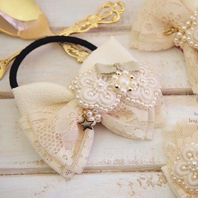 * * 1月25日販売開始* * ブランド → #Lilyipse 商品→ #ヘアゴム * #までみゅ~ #ハンドメイド #handmade…