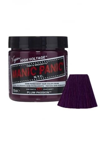 Manic Panic Plum Passion Semi-Permanent Hair Dye, £8.99