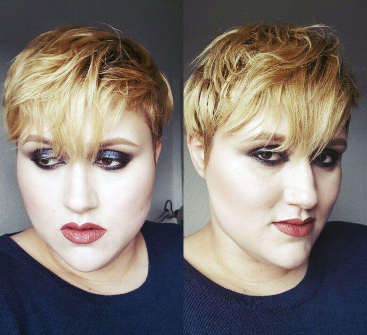Neue Frisur Rundes Gesicht Doppelkinn # Frisur #doble #ment # new… – #cooleKurzhaarfrisurenDamen #KurzhaarfrisurenDamen2019