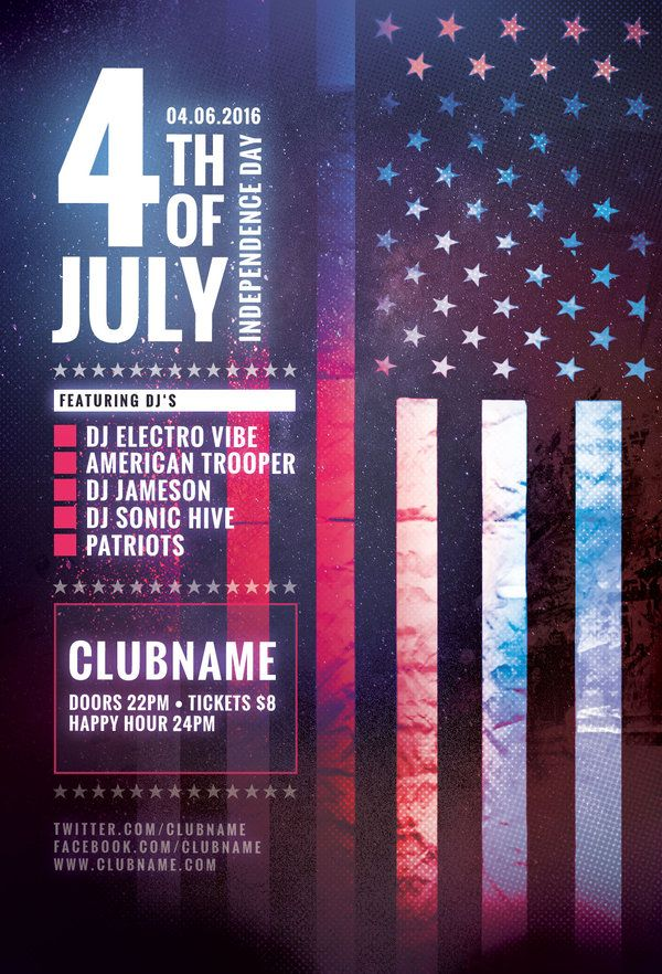 Best American Flyer Design Images On   Flyer Design
