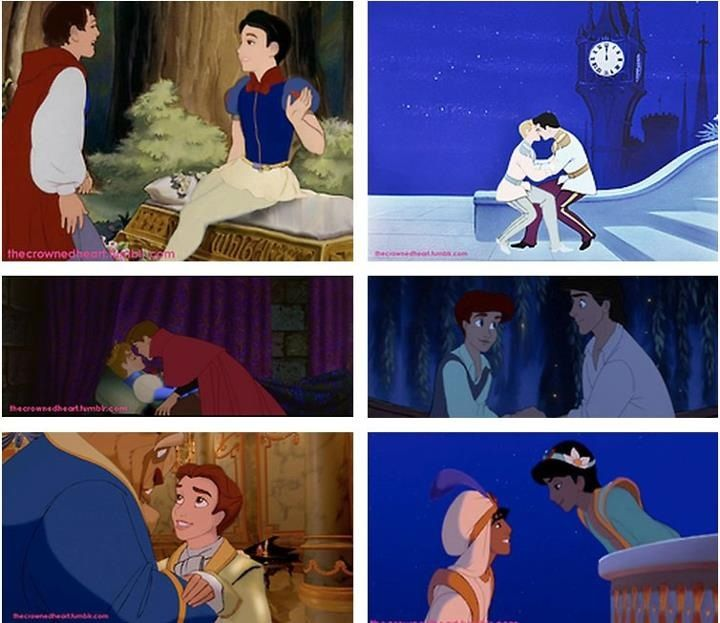 The Gay Version of Disney  (I think it's cute lol)