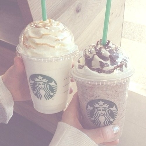 Starbucks with Camila!! ~luke