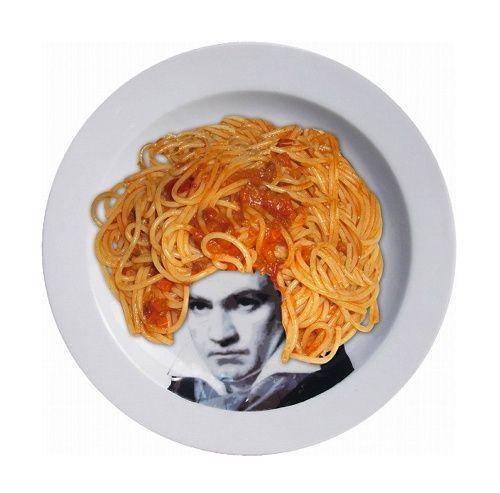 料理を盛り付けて有名人の髪型をデザインするフェイスディッシュ。おもしろいアイデアのお皿です。 : インテリア雑貨の伊勢海老太郎ブログ