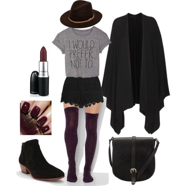 Modern Witch By Ladyblue82 On Polyvore Write On Pinterest The Row Thigh Highs And Coven