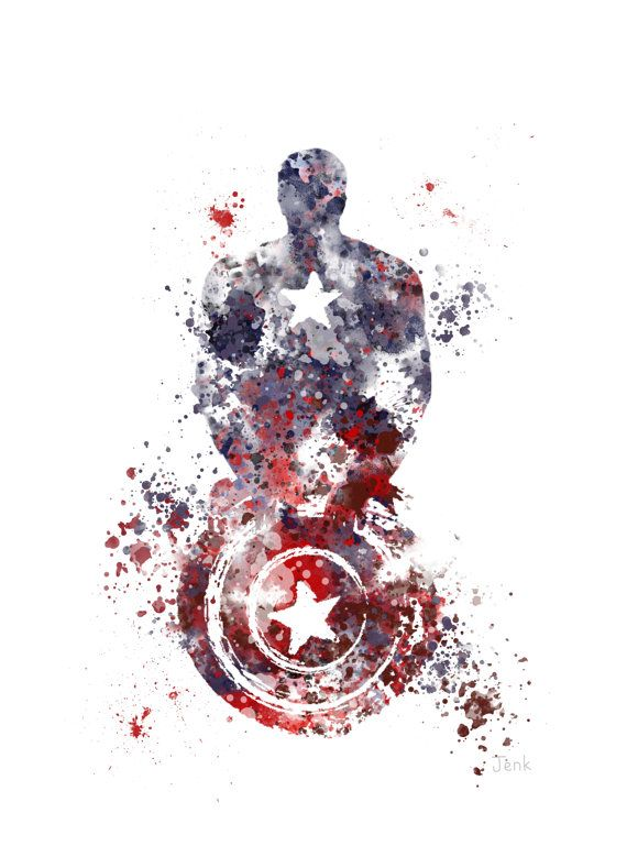 Hey, I found this really awesome Etsy listing at https://www.etsy.com/ru/listing/199150503/captain-america-art-print-10-x-8