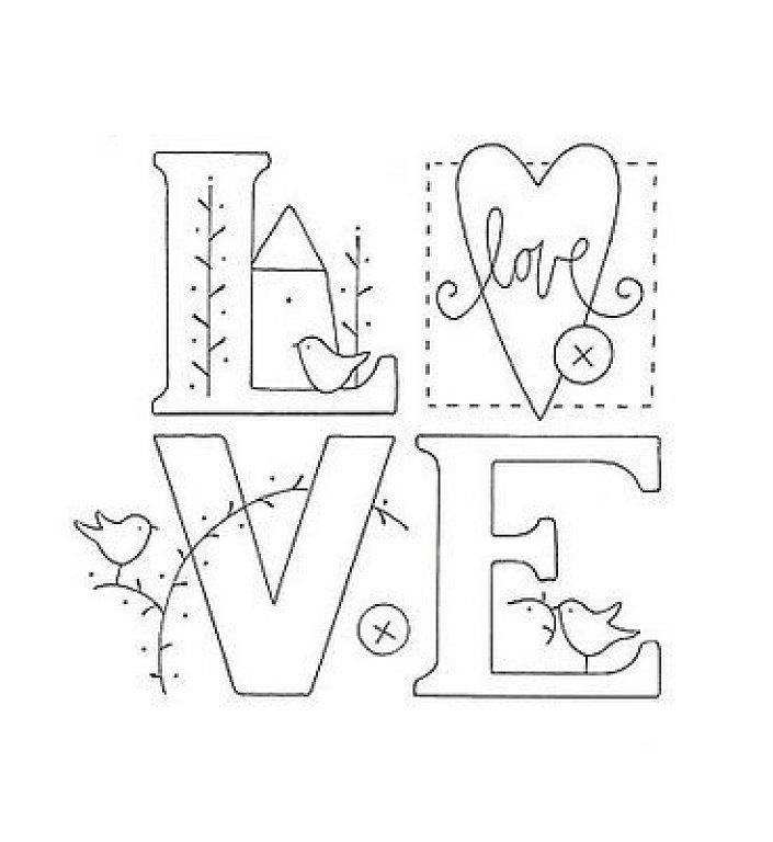 50 mejores imgenes de letras para bordados en Pinterest