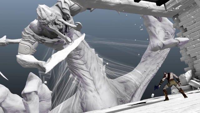 Dennis Pena God of War Ascension Animation