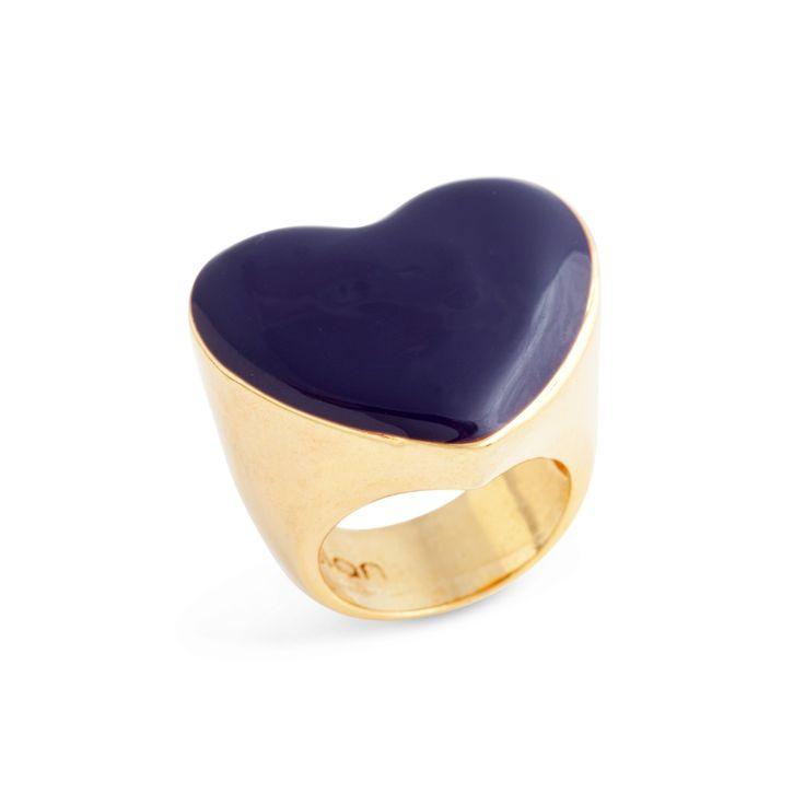 heart-shaped ring!