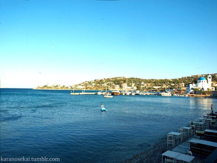 The island of Salamina #salamina #greece