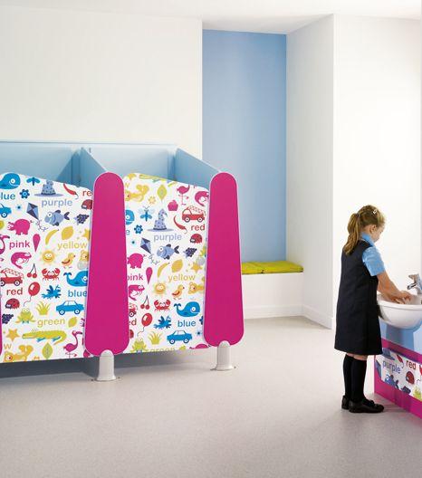 Best Kids Bathrooms: 96 Best Toilet Patitions Images On Pinterest