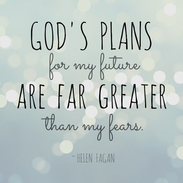 Helen Fagan, our featured #TellHisStory writer, shares about God's plans and her fears.