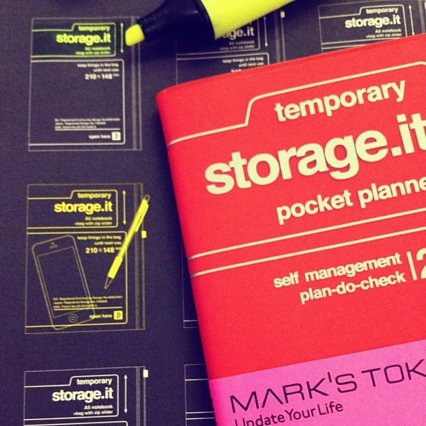 Storage It Pocket Planner | Aksara    www.aksara.com