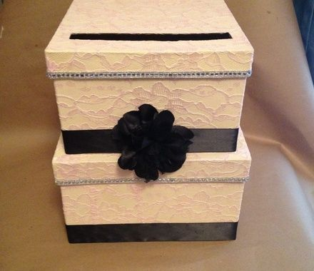 17 Best ideas about Wedding Gift Card Box – Gift Card Box for Wedding