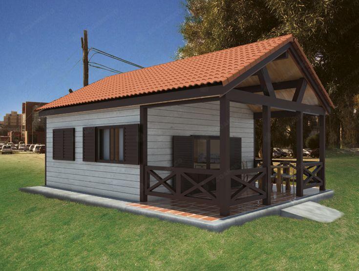 Mejores 13 im genes de casas en pinterest casas de madera casas y arquitetura - Precio proyecto casa 120 m2 ...