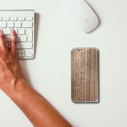 iPhone 6 Wood Cover + Aluminium Bumper by Bamboo & Wood