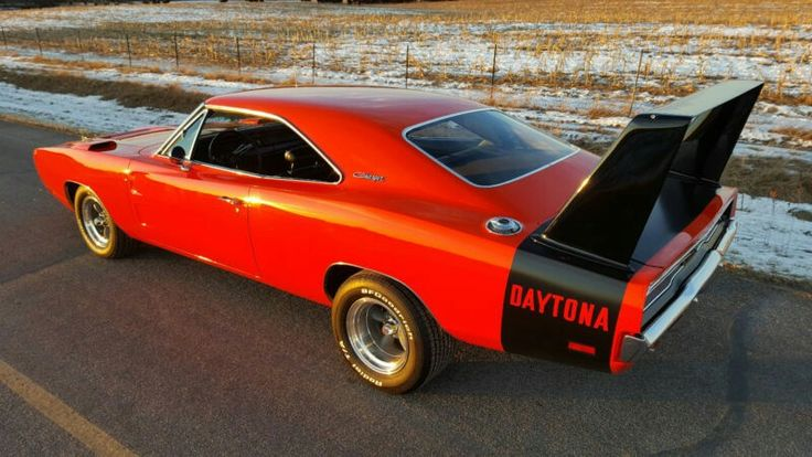 '69 Daytona with some typical '70's wheels and tires. I personally always thought they looked better this way.