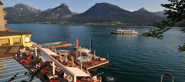 Hotel Weisses Rössl am Wolfgangsee - sehr zu empfehlen!