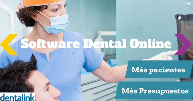Más pacientes y más presupuestos #Dentalink #softwaredental